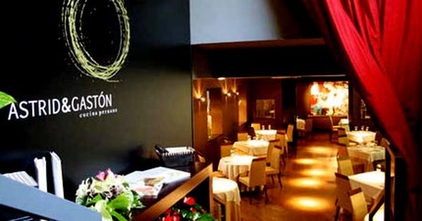 Astrid Y Gaston Lima Peru With Images Cool Restaurant