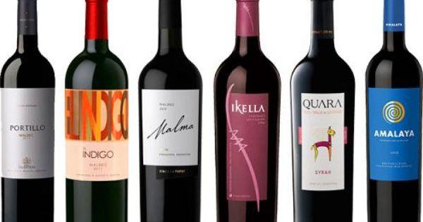 Vinos Argentinos Vino Tinto Vinos Y Quesos Etiquetas De Vino