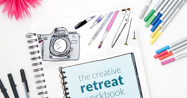 The creative retreat workbook this is exactly what i 39 ve for Personal retreat guide