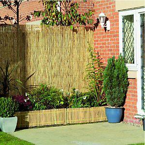 Wickes Reed Garden Screening 2 X 4m Garden Dividers Garden
