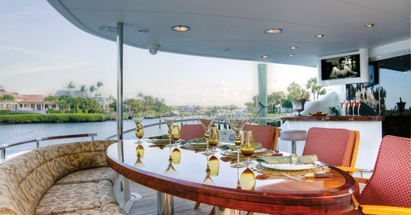 On Board The Yacht Of Palm Beachers Joanne Berkow And