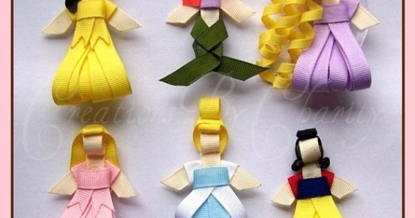 Princess Hair Clips..now these are great hairclips
