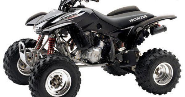 2006 Honda Trx 400 Ex Top Speed Four Wheelers Black Honda Honda