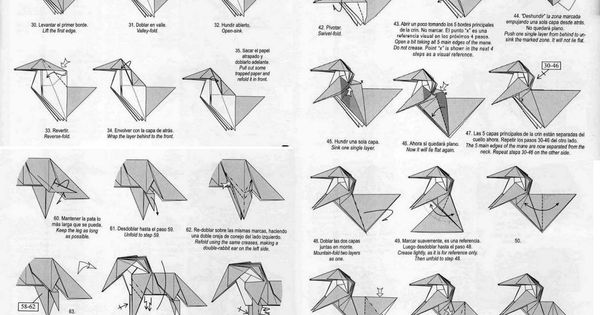 tutorial for unicorn origami