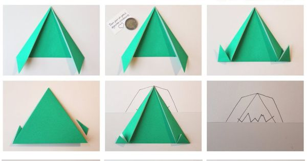 diy calendrier de l avent through the mountains mountains and origami. Black Bedroom Furniture Sets. Home Design Ideas