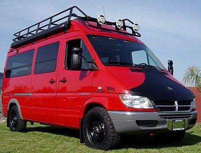Sprinter 4x4 Sportsmobile Sprinter Camper Sprinter Van