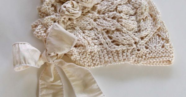 Baby bonnets, Knits and Free pattern on Pinterest