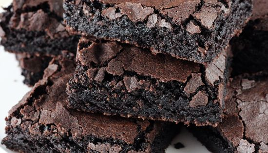 Easy from-scratch Brownies! Just like a box mix! So good and always