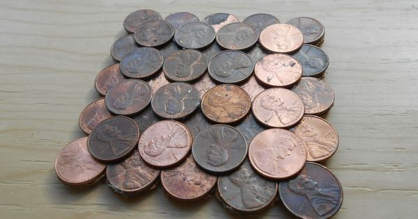 How to make penny coasters for Penny coasters