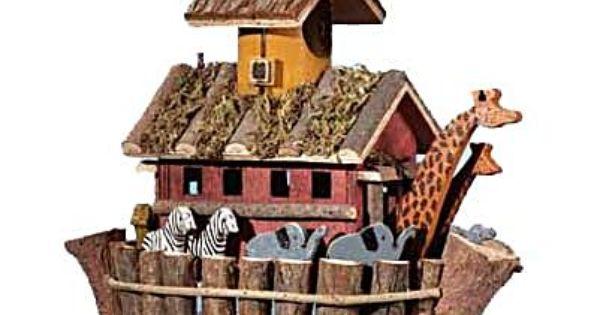 Noahs Ark Bird House Unique Bird Houses Decorative Bird Houses