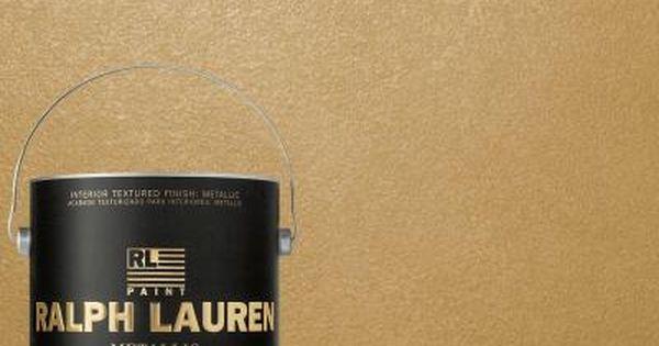 ralph lauren 1 gal golden buttermilk gold metallic. Black Bedroom Furniture Sets. Home Design Ideas