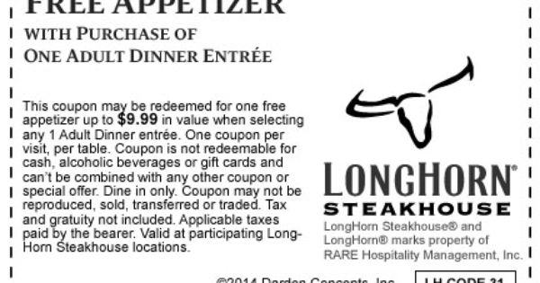 photo relating to Longhorn Coupons Printable identified as Discount codes longhorn steakhouse deals - Fresh albany furnishings