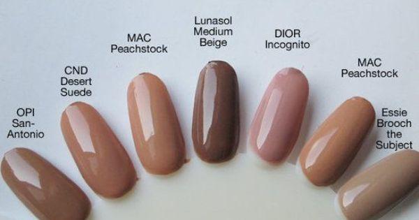 Pin By Maria Ward On Nails Neutral Nails Neutral Nail Polish Trendy Nails