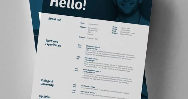50 Inspiring Resume Designs To Learn From Learn Resume Design Resume Design Free Resume Design Creative