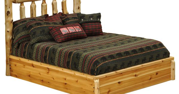 White Cedar Platform Bed For Sale At White Cedar Bedroom Pinterest