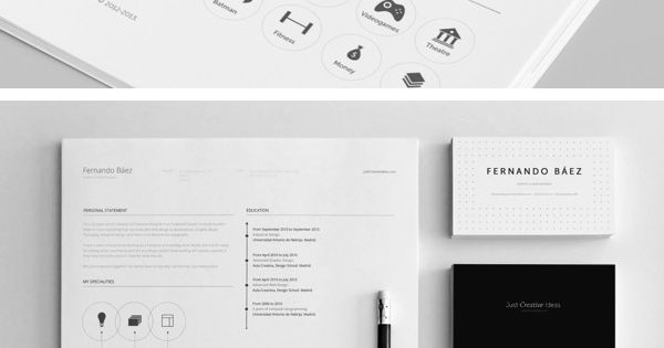 Professional Resume Template | GraphicBurger
