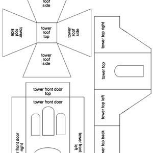 haunted gingerbread house template  Pin on glitter houses