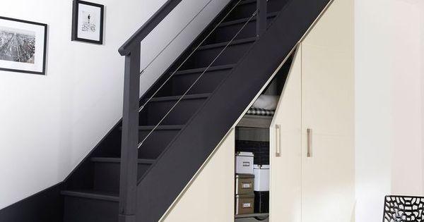 rangement gain de place 15 id es pour la cuisine la chambre rangement sous escalier. Black Bedroom Furniture Sets. Home Design Ideas
