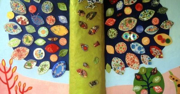 Cool Mosaic Tree For Sensory Area Other Great Ideas On