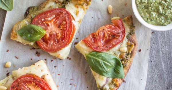 Vegetarian Carrot Top Pesto Pizza | Pizza, Carrot top and Pesto