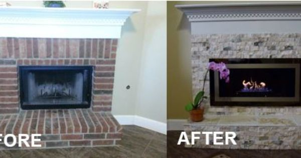 Want To Reface Your Old Fireplace Not A Problem Check Out This