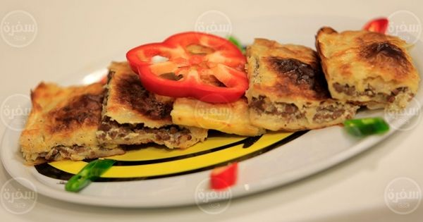 Cbc Sofra طريقة تحضير جلاش باللحمة المفرومة نجلاء الشرشابي Recipe Breakfast Food Dough