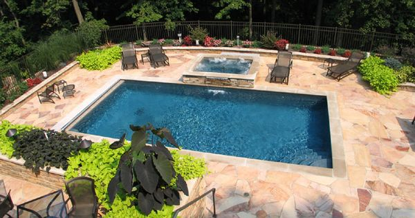 Inground concrete custom design pool spa builders for Pool designs lexington ky