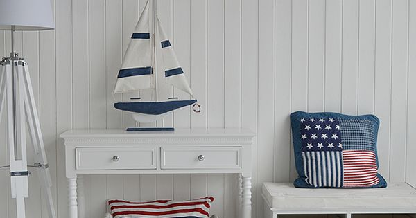 New england style hall with stars and stripes decorating Stars and stripes home decor