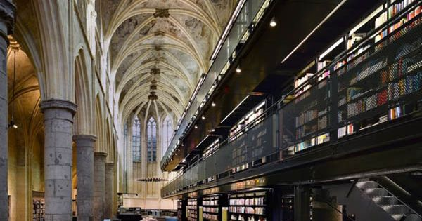 Beautiful Old Church Transformed to New Age Bookstore | InspireFirst Beautiful Church