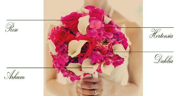 joli bouquet de mari e rose et blanc hortensia rose dahlia arum dahlias bouquets et roses. Black Bedroom Furniture Sets. Home Design Ideas