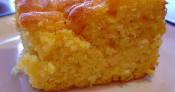 Sweet corn bread like Boston Market's. Cornbread mixed with Yellow cake mix.