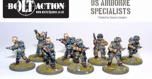 Bolt Action 28mm Us Airborne Specialists 171 Game Searches