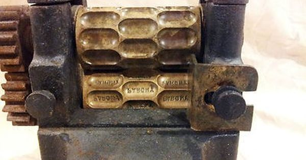 Antique Drop Candy Making Machine Thomas Mills Amp Bros