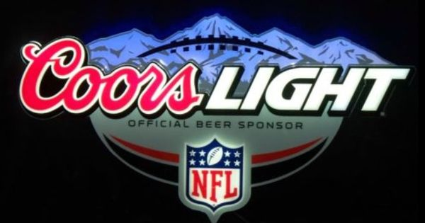 Coors Light Nfl Sign Neon Signs Pinterest Coors