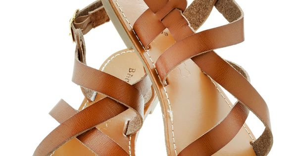 At Your Leisure Sandal - Brown, Boho, Flat, Leather, Solid, Casual, Beach/Resort, Faux Leather