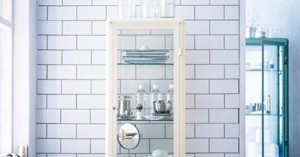 New bathroom cabinet from ikea fabrik r my home - Estanteria ducha ikea ...