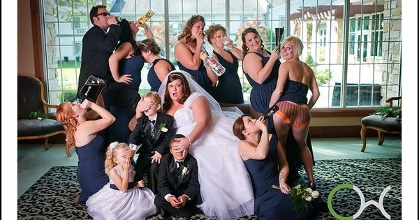 Quot Naughty Bridesmaids Quot Gone Wild Wedding Photograph Funny