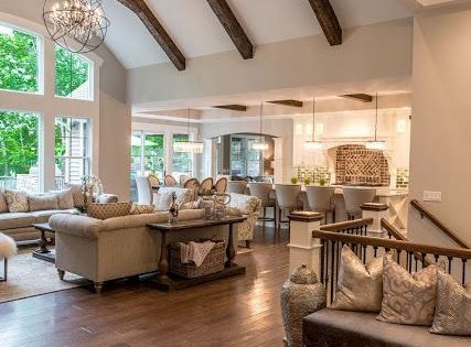Vaulted Ceiling With Wooden Beams Future Home Pinterest Beams Ceiling And Vaulting