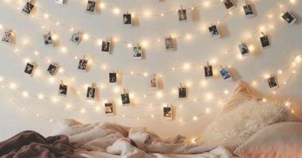 diy deko jugendzimmer m dchenzimmer dekorieren wanddeko dekogirlande leuchten diy do it. Black Bedroom Furniture Sets. Home Design Ideas