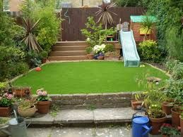 Image Result For Small London Child Friendly Garden Images Small Backyard Landscaping Child Friendly Garden Sloped Garden