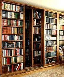 12 Incredible Home Libraries With Hidden Doors Large Bookcase