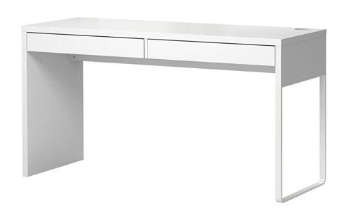 Micke bureau blanc plateau de table espace de travail et bureau ikea - Bureau de travail ikea ...