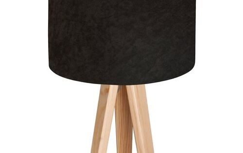 Eilish 45cm Tripod Table Lamp Rosdorf Park Base Finish Natural Shade Colour White Tischleuchte Farben Schirm