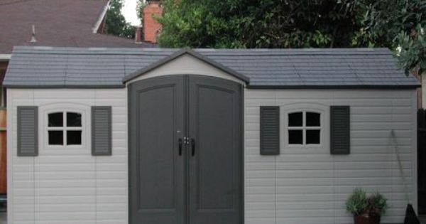 Amazon Com Lifetime 6424 30 Inch Shed Extension Kit For 8 Foot