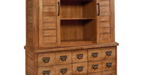 farmhouse archive buffet and hutch magnolia home for value city furniture home style. Black Bedroom Furniture Sets. Home Design Ideas