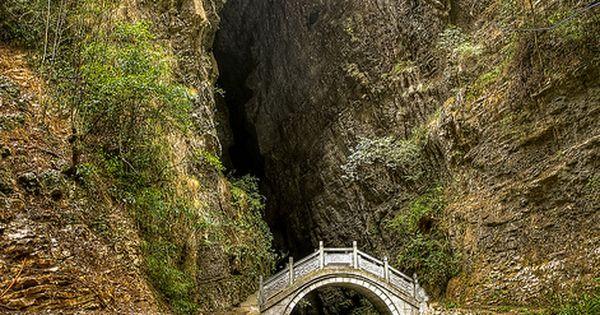 Photo Place: Moon Bridge, Zhangjiajie, Hunan, China