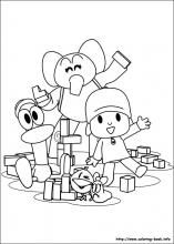 Pocoyo Coloring Page Coloring Pages Coloring Books Pocoyo