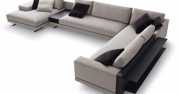 Mondrian sof de esquina colecci n mondrian by poliform for Sofa exterior esquina