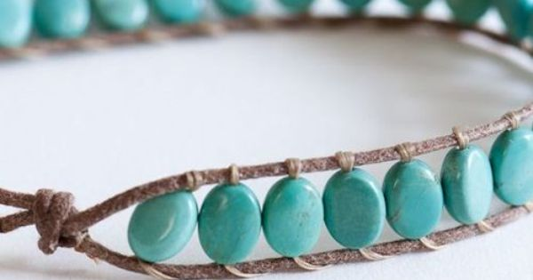 """Lines Across"": Beaded Hemp Bracelet (and 15 tutorials to add beads to"