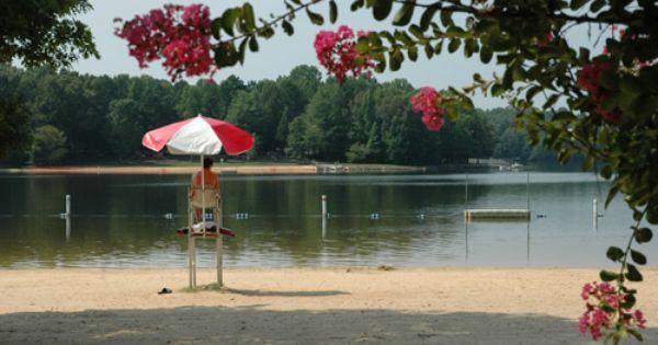 Cane Creek Park Beach Visit North Carolina Waxhaw North Carolina Union County